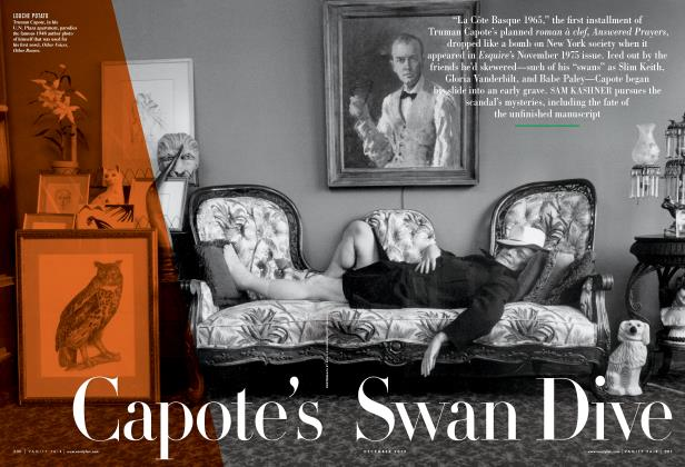 Article Preview: Capote's Swan Dive, December 2012 2012 | Vanity Fair