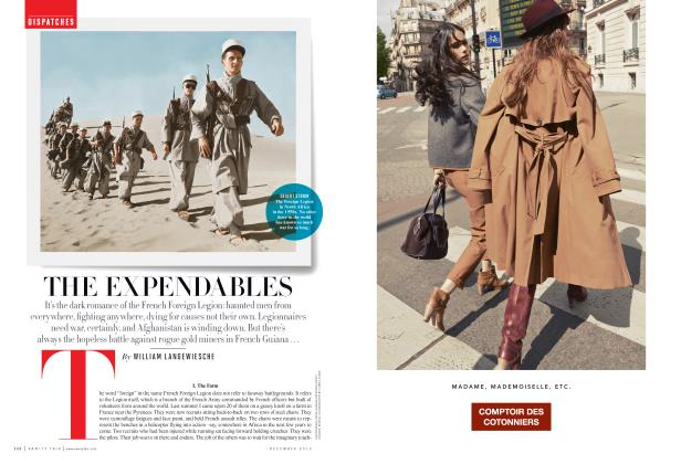 Article Preview: THE EXPENDABLES, December 2012 | Vanity Fair