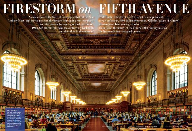 Article Preview: FIRESTORM on FIFTH AVENUE, December 2012 | Vanity Fair