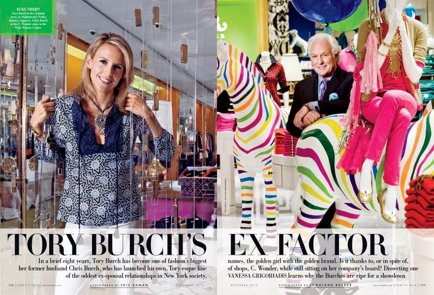 TORY BURCH'S EX FACTOR