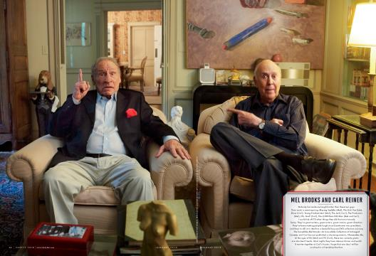 MEL BROOKS AND CARL REINER - January | Vanity Fair