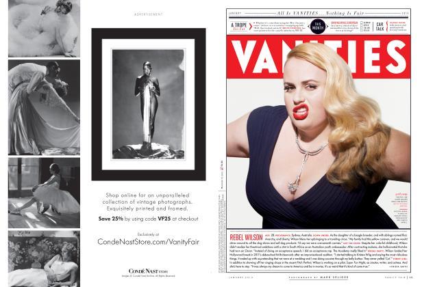 Article Preview: REBEL WILSON, January 2013 2013 | Vanity Fair