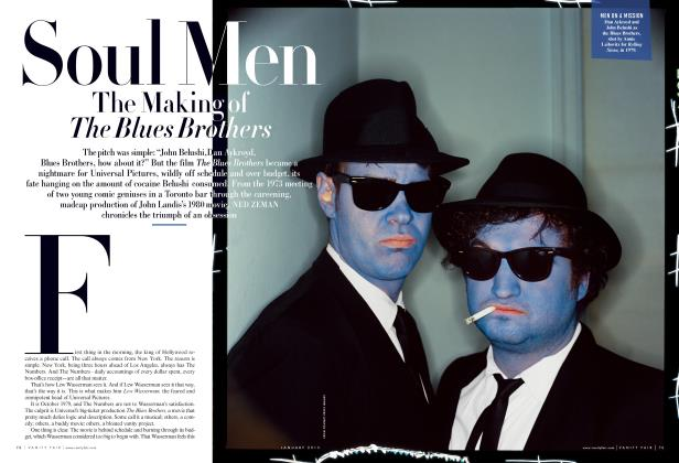Article Preview: Soul Men The Making of The Blues Brothers, January 2013 2013 | Vanity Fair