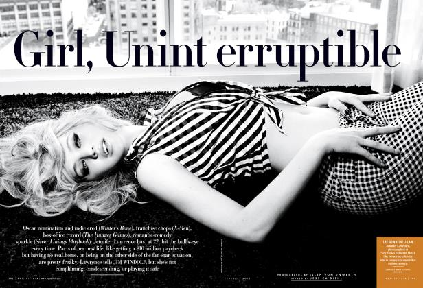 Article Preview: Girl, Uninterruptible, February 2013 2013 | Vanity Fair