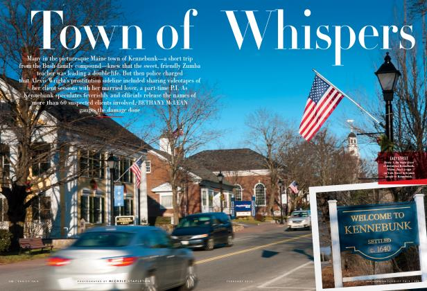 Article Preview: Town of Whispers, February 2013 2013 | Vanity Fair