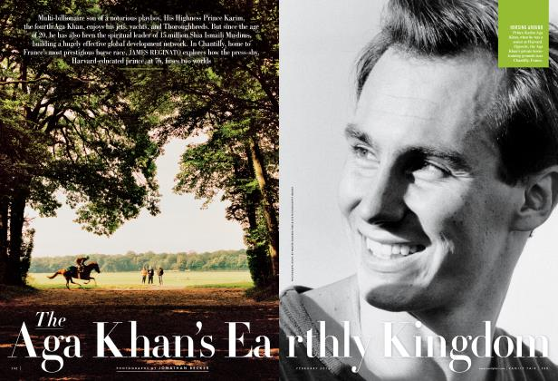 Article Preview: The Aga Khan's Earthly Kingdom, February 2013 | Vanity Fair