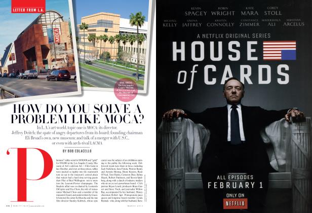 Article Preview: HOW DO YOU SOLVE A PROBLEM LIKE MOCA?, March 2013   Vanity Fair
