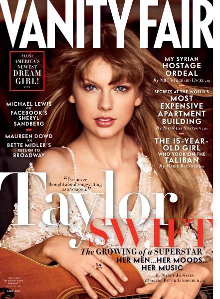 Issue: - April 2013   Vanity Fair