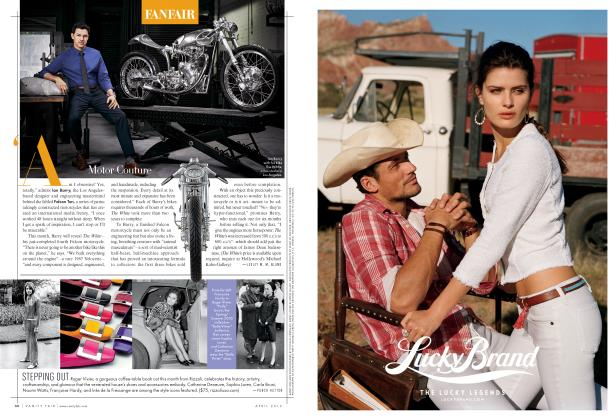Article Preview: Motor Couture, April 2013 2013 | Vanity Fair