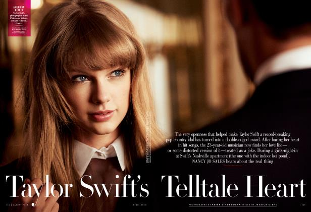 Article Preview: Taylor Swift's Telltale Heart, April 2013 2013 | Vanity Fair