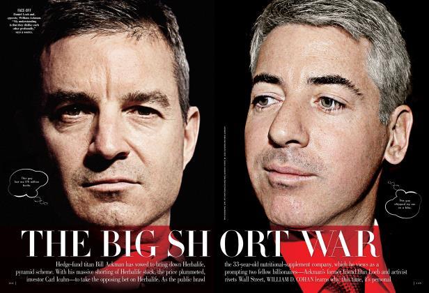Article Preview: THE BIG SHORT WAR, April 2013 2013 | Vanity Fair