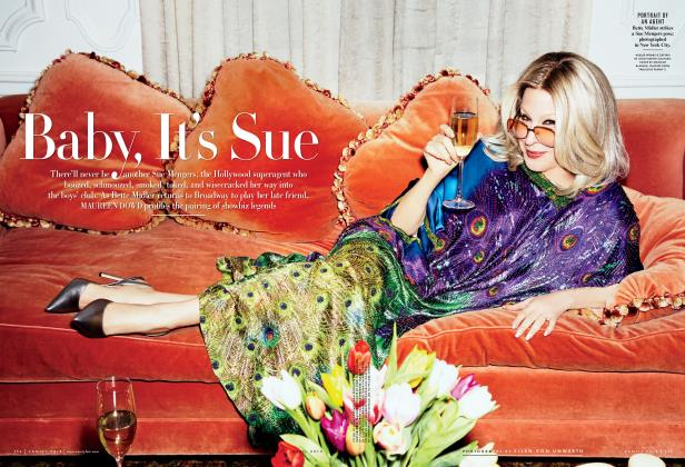 Article Preview: Baby, It's Sue, April 2013 2013 | Vanity Fair