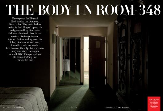 THE BODY IN ROOM 348 - May | Vanity Fair