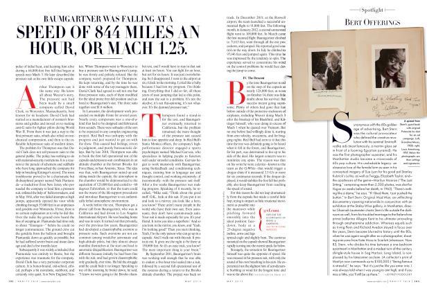 Article Preview: BERT OFFERINGS, May 2013 2013   Vanity Fair