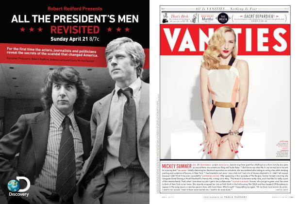 Article Preview: MICKEY SUMNER, May 2013 2013 | Vanity Fair