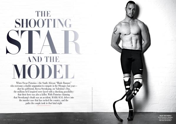 Article Preview: THE SHOOTING STAR AND THE MODEL, June 2013 2013 | Vanity Fair
