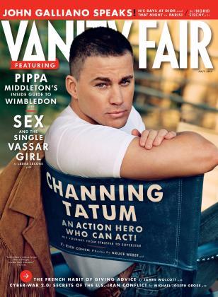 July 2013 | Vanity Fair