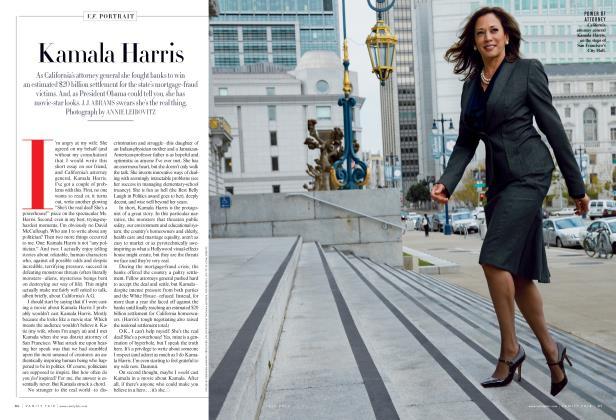 Article Preview: Kamala Harris, July 2013 2013   Vanity Fair