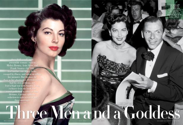 Article Preview: Three Men and a Goddess, July 2013 2013 | Vanity Fair