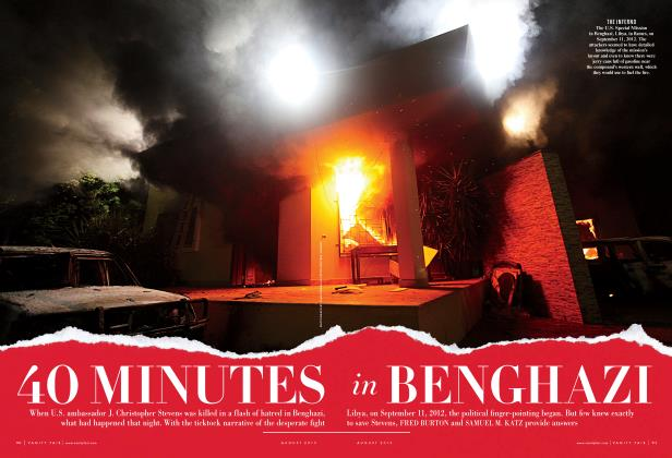 Article Preview: 40 MINUTES in BENHAZI, August 2013 | Vanity Fair
