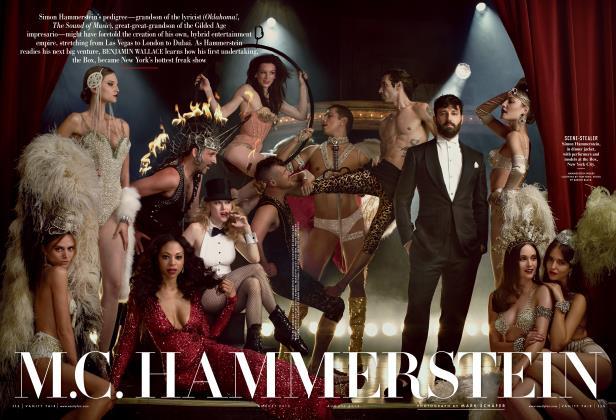 Article Preview: M.C. HAMMERSTEIN, AUGUST 2013 2013 | Vanity Fair