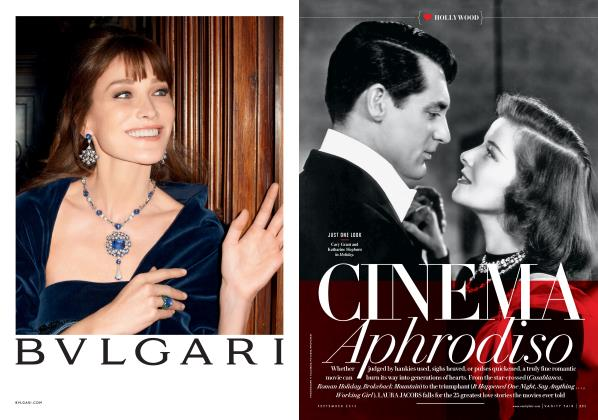 Article Preview: CINEMA Aphrodiso, September 2013 | Vanity Fair