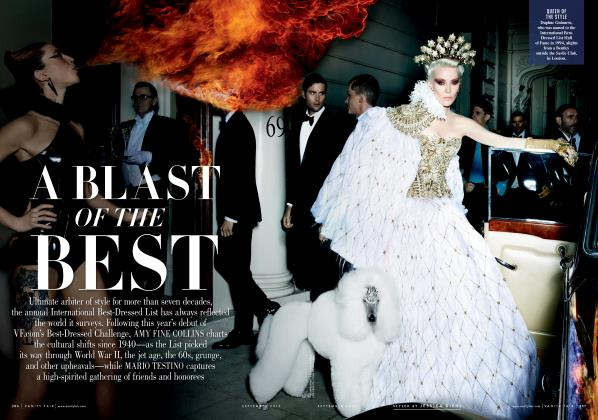 Article Preview: A BLAST OF THE BEST, September 2013 2013 | Vanity Fair