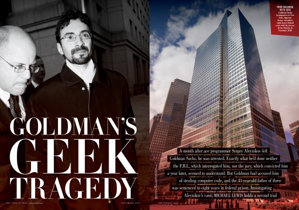 GOLDMAN'S GEEK TRAGEDY