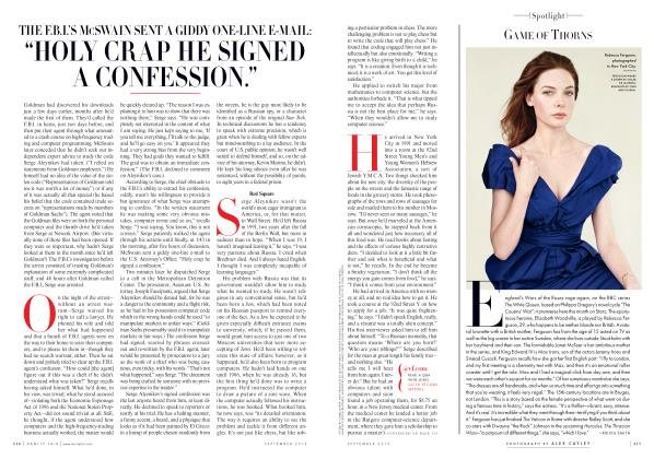 Article Preview: GAME OF THORNS, September 2013 2013 | Vanity Fair