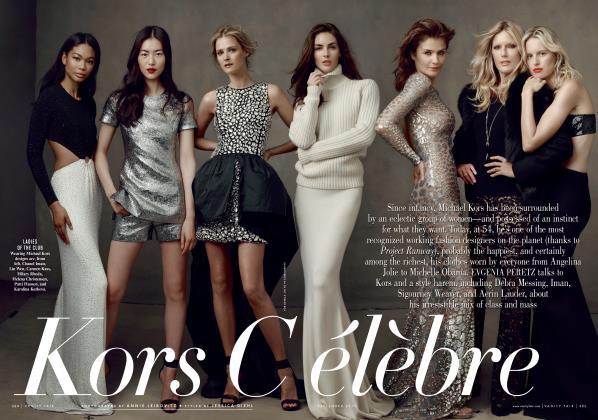 Article Preview: Kors Célèbre, September 2013 | Vanity Fair
