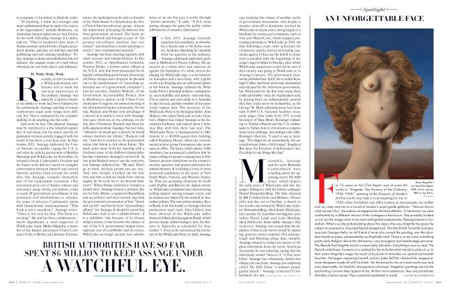 Article Preview: AN UNFORGETTABLE FACE, October 2013 2013 | Vanity Fair
