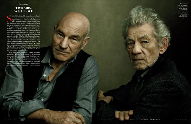 Article Preview: TWO SIRS, WITH LOVE, October 2013 2013 | Vanity Fair