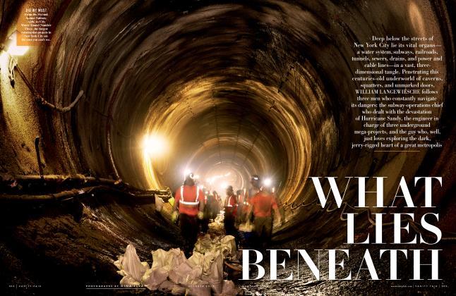 Article Preview: WHAT LIES BENEATH, October 2013 2013 | Vanity Fair