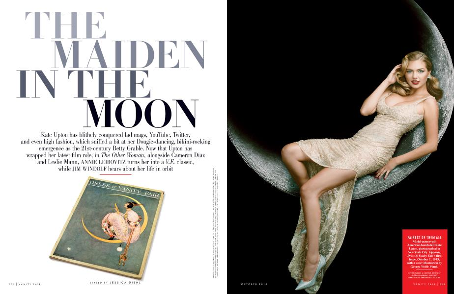 THE MAIDEN IN THE MOON