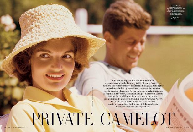 Article Preview: PRIVATE CAMELOT, October 2013 2013 | Vanity Fair