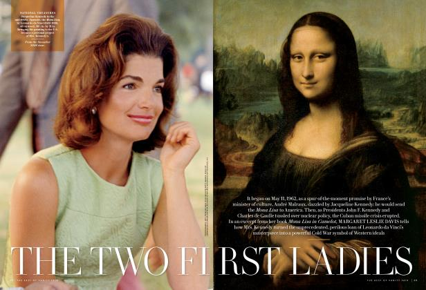 Article Preview: THE TWO FIRST LADIES, October 2013 2013 | Vanity Fair