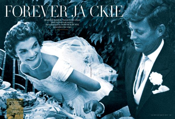 Article Preview: FOREVER JACKIE, October 2013 2013 | Vanity Fair