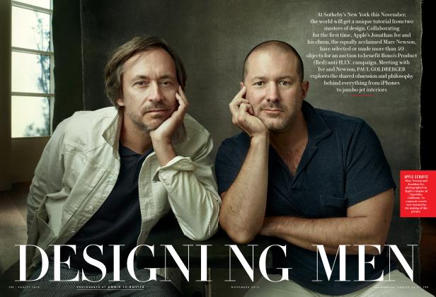 Article Preview: DESIGNING MEN, November 2013 | Vanity Fair