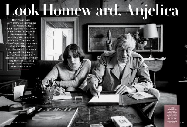 Article Preview: Look Homeward, Anjelica, November 2013 | Vanity Fair