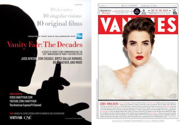 Article Preview: COBIE SMULDERS, November 2013 2013 | Vanity Fair