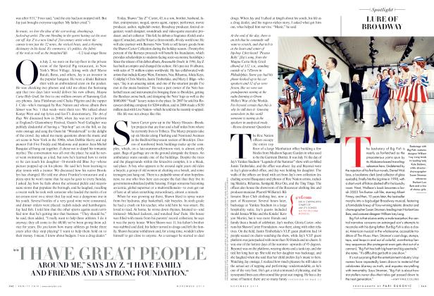 Article Preview: LURE OF BROADWAY, November 2013 2013 | Vanity Fair
