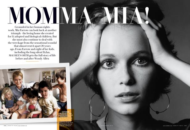 Article Preview: MOMMA MIA!, November 2013 | Vanity Fair