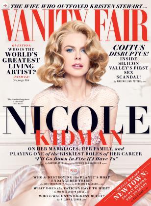 December 2013 | Vanity Fair