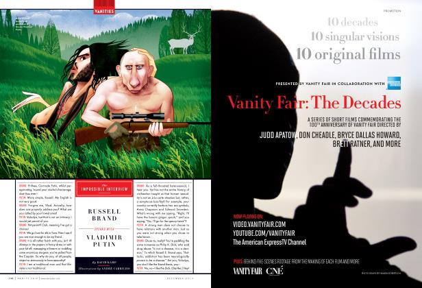 Article Preview: The IMPOSSIBLE INTERVIEW, December 2013 2013 | Vanity Fair