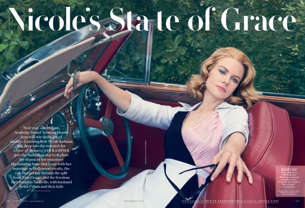 Article Preview: Nicole's State of Grace, December 2013 2013 | Vanity Fair
