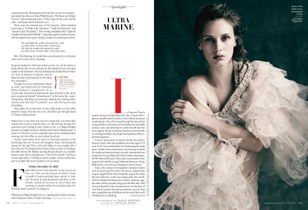 Article Preview: ULTRA MARINE, December 2013 2013   Vanity Fair