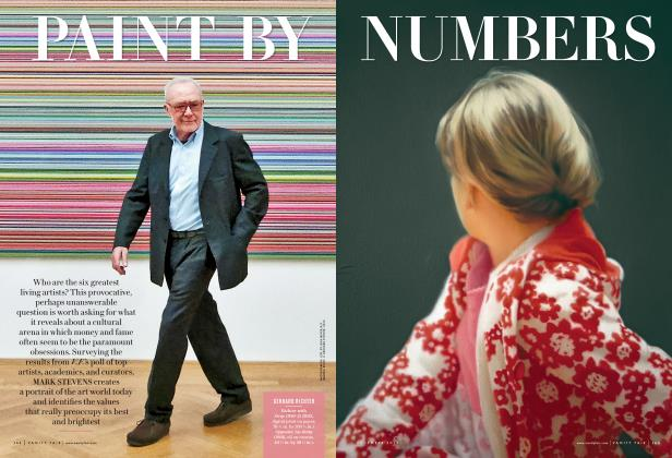 Article Preview: PAINT BY NUMBERS, December 2013 2013 | Vanity Fair