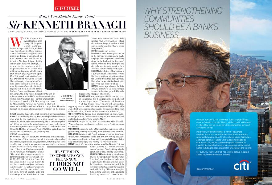 What You Should Know About Sir KENNETH BRANAGH