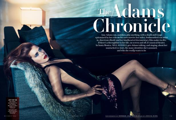 Article Preview: The Adams Chronicle, January 2014 2014 | Vanity Fair
