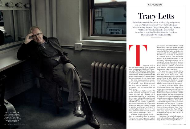 Article Preview: Tracy Letts, January 2014 2014 | Vanity Fair